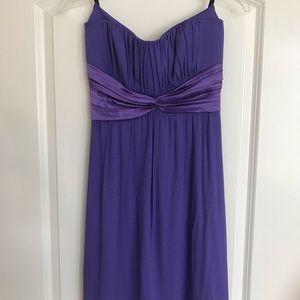 Bebe Strapless Dress